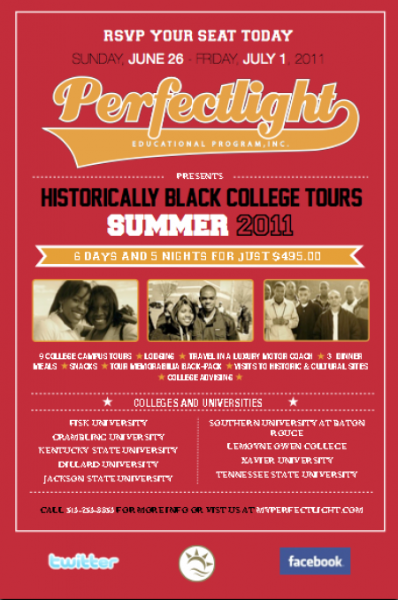 HBCU College Campus Tours for Summer 2011