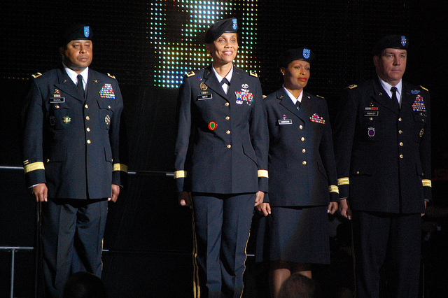 Army Reserve on Stage at 2011 Essence Music Festival