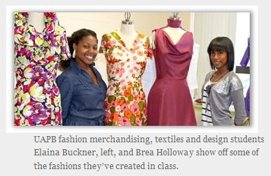 UAPB Program Prepares Students for Careers in Fashion