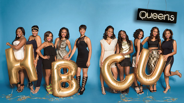 Past winners of the Ebony HBCU Campus Queens competition.