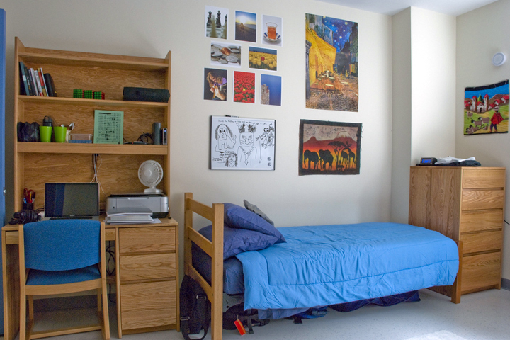 how maximize your limited dorm room space