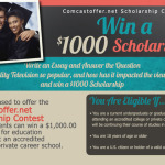 Enter to Win the Comcastoffer.net Essay Contest [Scholarship]