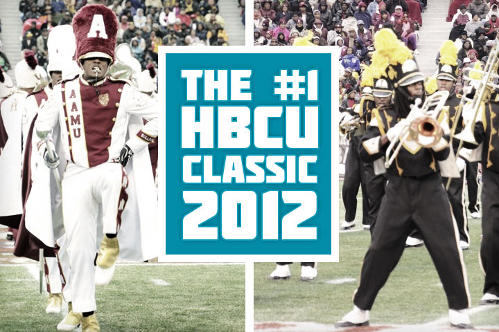 Top 5 HBCU Football Classics by Attendance in 2012