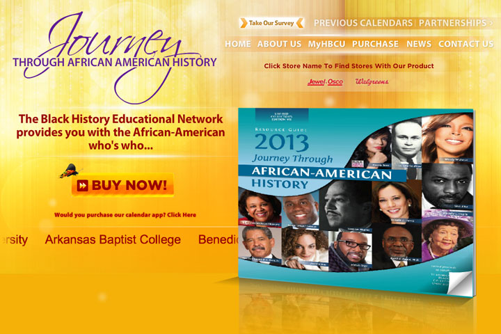 Purchase the 2013 African-American History Calendar and Support 12 HBCUs