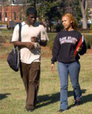 More black American students are going to college