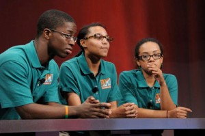 Florida A&M University Comepete at the 2013 Honda Campus All Star Challenge