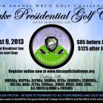 Thurgood Marshall College Fund Hosts HBCU Golf Challenge to Benefit HBCU Students