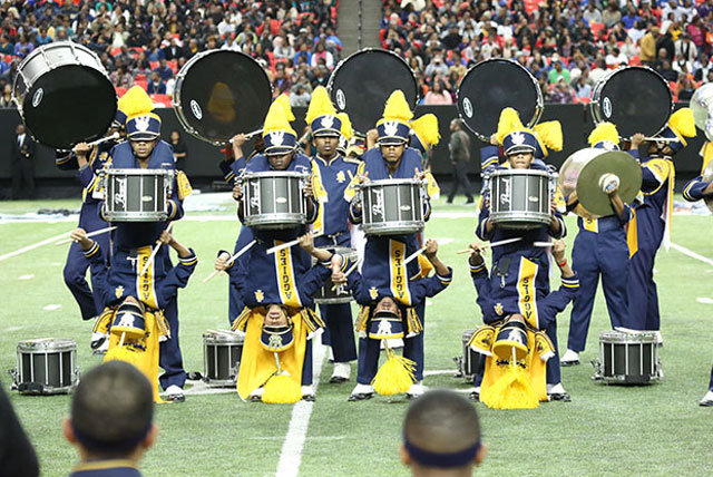 Marching band fans at the 2014 Honda Battle of the Bands voted North Carolina A&T University the fan favorite.