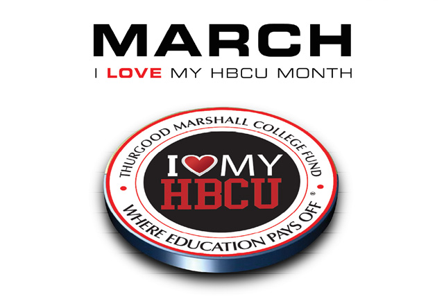 The Thurgood Marshall College Fund has declared March as National #ILoveMyHBCU month. Join us in showing HBCU pride all month-long.