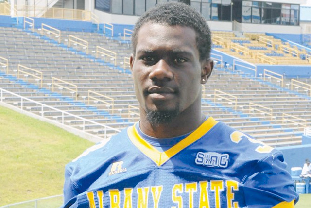 Former Albany State safety Dexter Moody