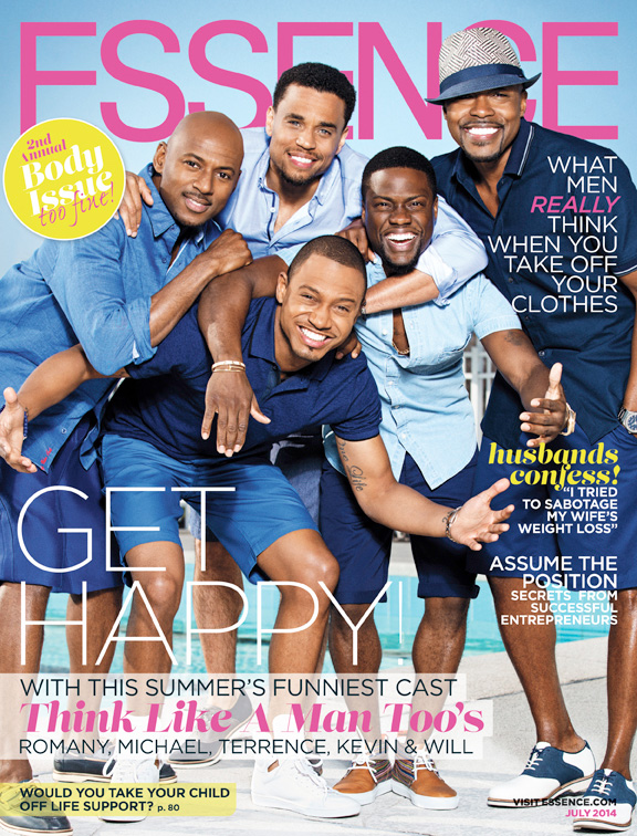 """The July issue of ESSENCE Magazine highlights Will Packer and the cast of """"Think Like A Man Too. """""""