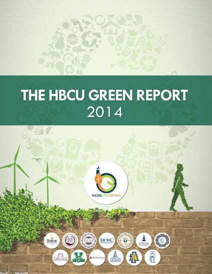 The 2014 HBCU Green Report Cover