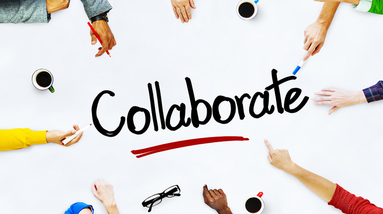 Image result for images of collaborating