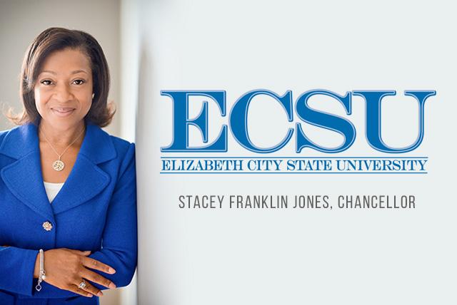 Stacey Franklin Jones Elected Chancellor of ECSU
