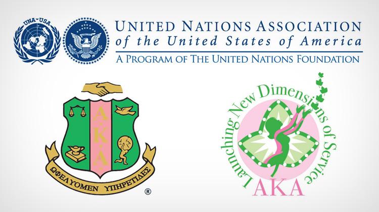 Alpha Kappa Alpha Partners with UNA-USA for Global Initiative