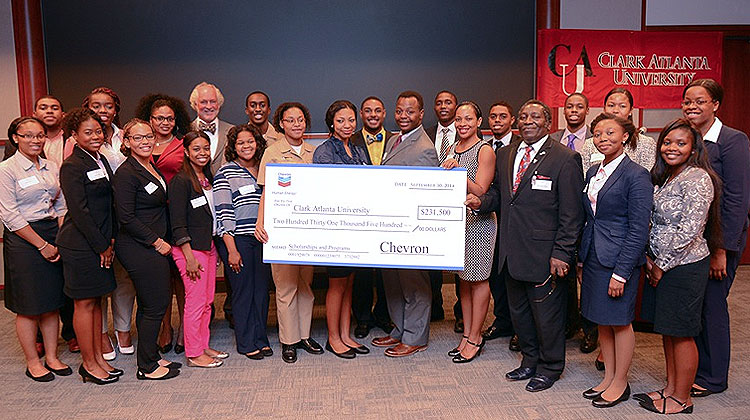 Clark Atlanta Receives A $231,000 Grant From Chevron