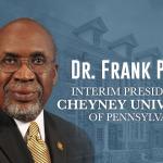 Frank Pogue Named Interim President of Cheyney University