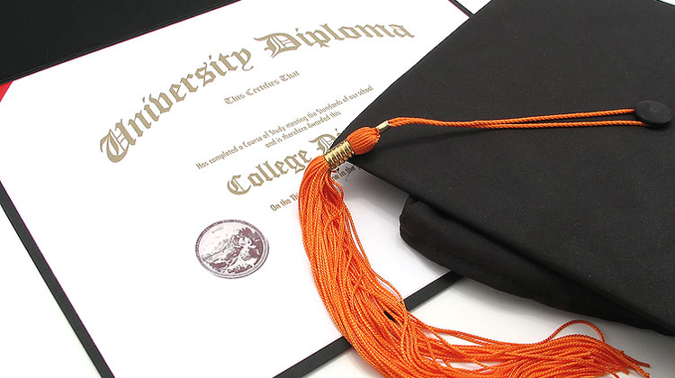 College Diploma With Cap And Tassel Save Download Preview College Diploma With Cap And Tassel
