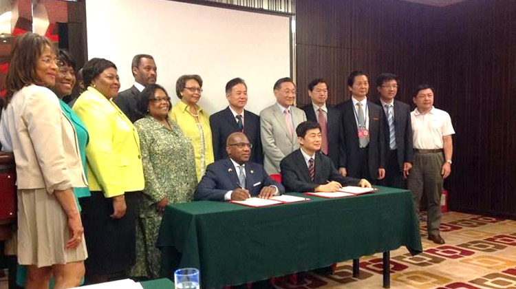 HBCU delegates met with officials in China to solidify student exchange relations.