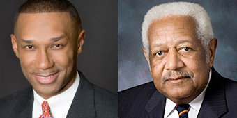 Dr. Donald Wilson and Mr. Johnny C. Taylor