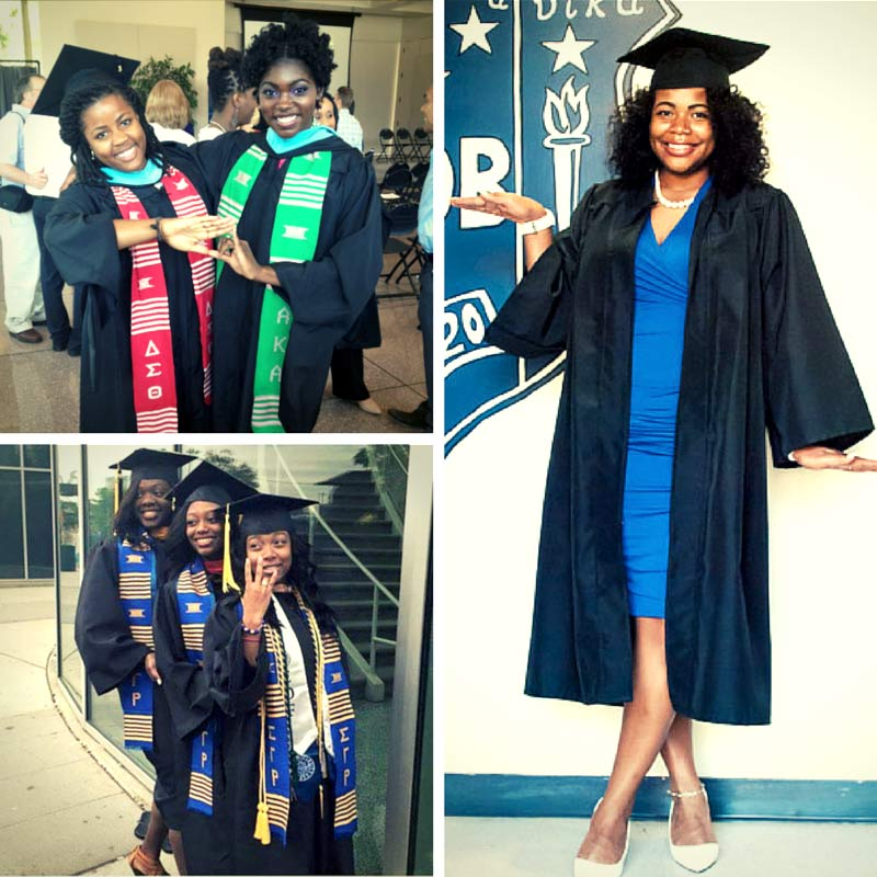 Living the Legacy: Congrats to all Graduating Black Greek Sorors