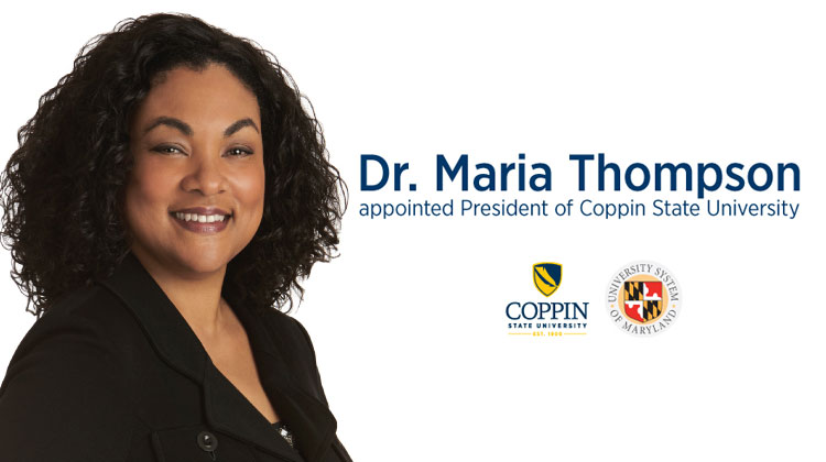 Maria Thompson Named President of Coppin State University