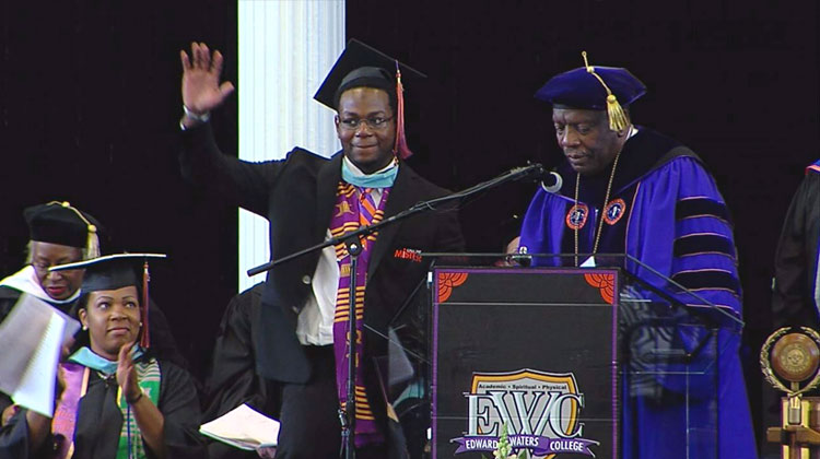 Edward Waters College graduates its first call me mister scholar