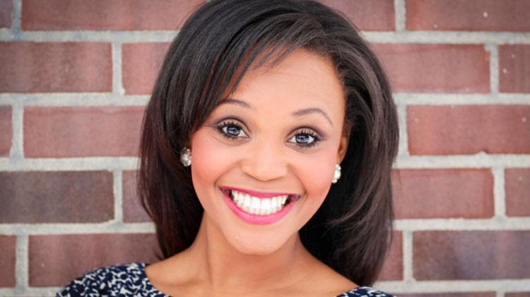 Television reporter Brittany Noble-Jones