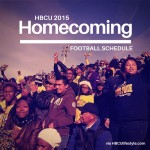 Homecoming 2015 HBCU Football Schedule