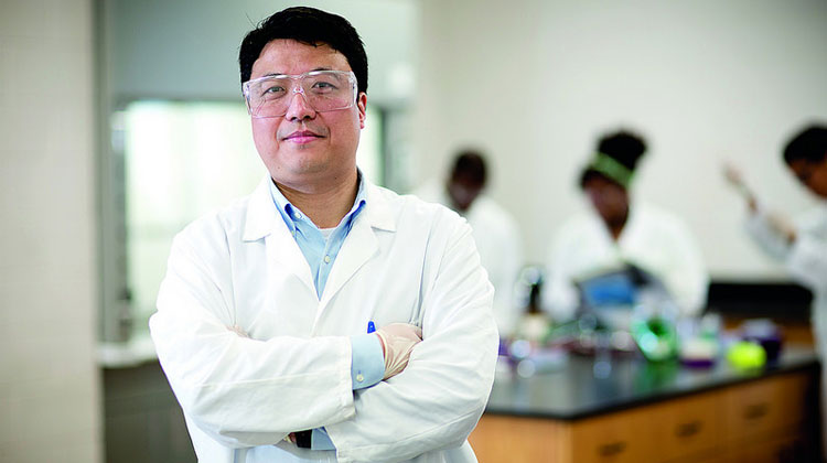 Kai Shen, Ph.D, assistant professor in chemistry and forensic science.