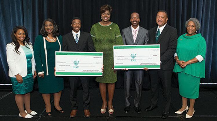 Alpha Kappa Alpha Awards Two $10k Scholarships to NCCU
