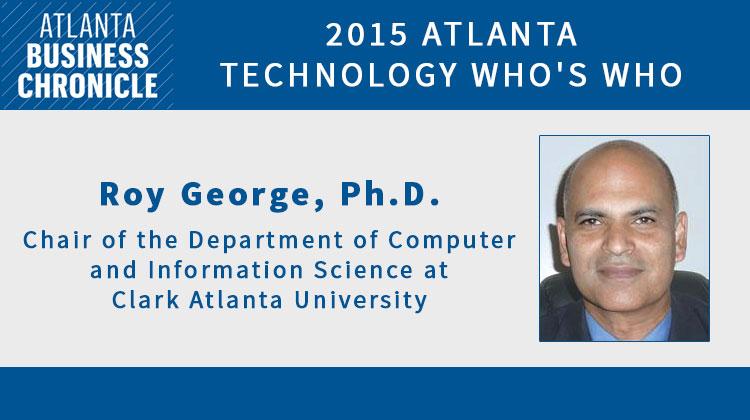 Clark Atlanta Professor Among Top 100 Technology Leaders