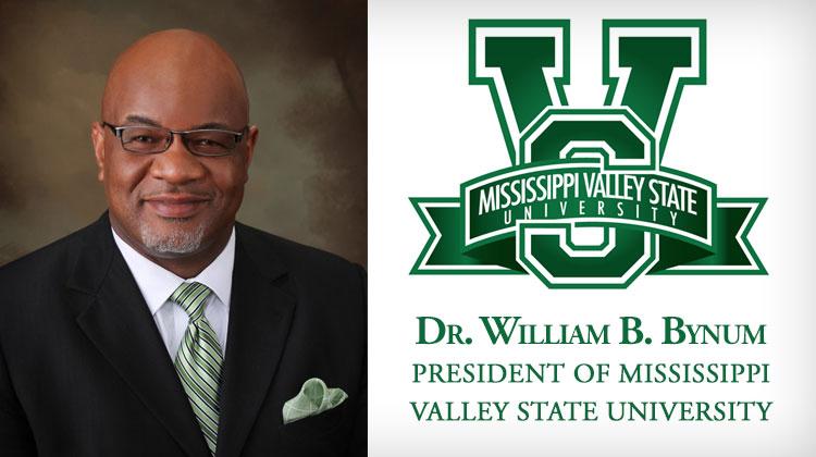 MVSU President William B. Bynum