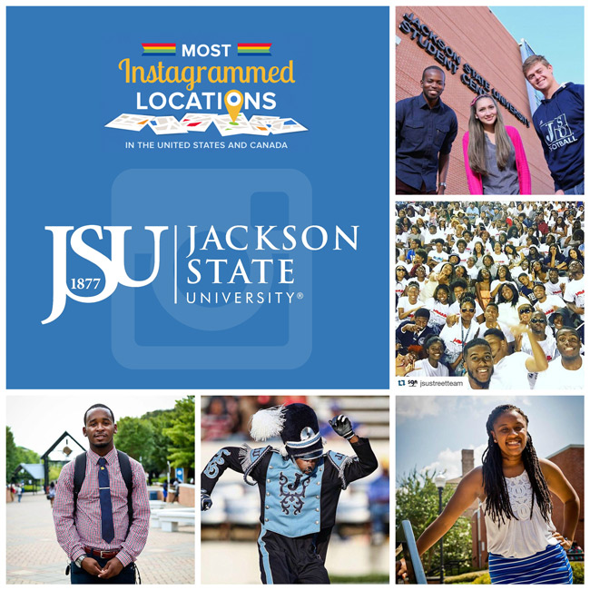 JSU is most 'Instagrammed' site in Mississippi