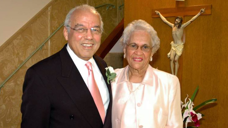 Dr. Norman C. Francis and Mrs. Blanche Masdonald Francis.
