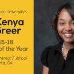 ASU Alumna Named Teacher of the Year at Atlanta School