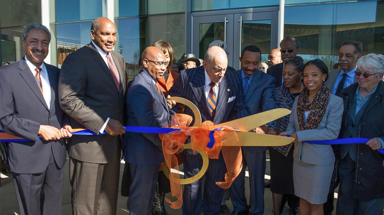 Earl G. Graves School of Business and Management Ribbon Cutting Ceremony