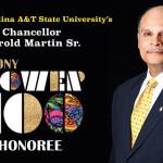 Ebony Power 100: NCAT Chancellor Martin Makes the List