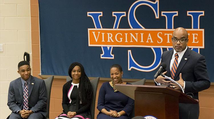 BC-U Provost Makola AbdullahAbdullah Named Next President of Virginia State University