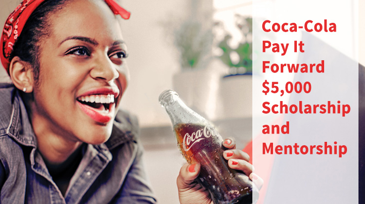 coca cola pay it forward scholarship nominate yourself or a teen