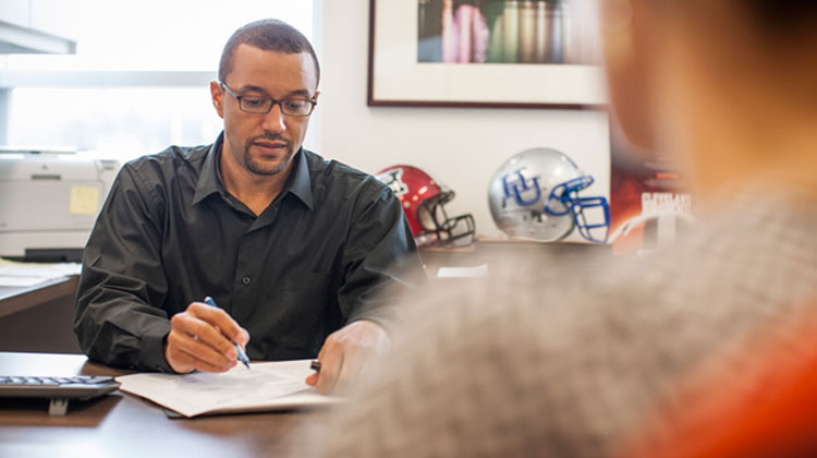 Sashi Brown, Executive Vice President of Football Operations for the Cleveland Browns.