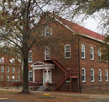 Historic Emery Building II on the Tuskegee Campus