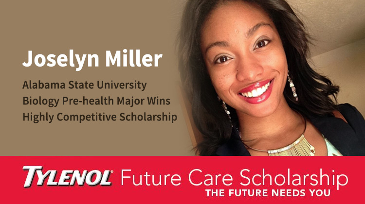Alabama State's Joselyn Miller is Named a 2015 Tylenol Future Care Scholar