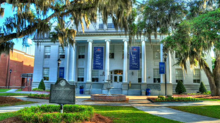 Savannah State Applies for Patent. Image of Hill Hall on the campus of Savannah State University was built in 1901 and has served as a dormitory, library, classroom and administrative building, student center, book store and post office.