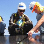 North Carolina Central Students Spend Spring Break Installing Solar Panels