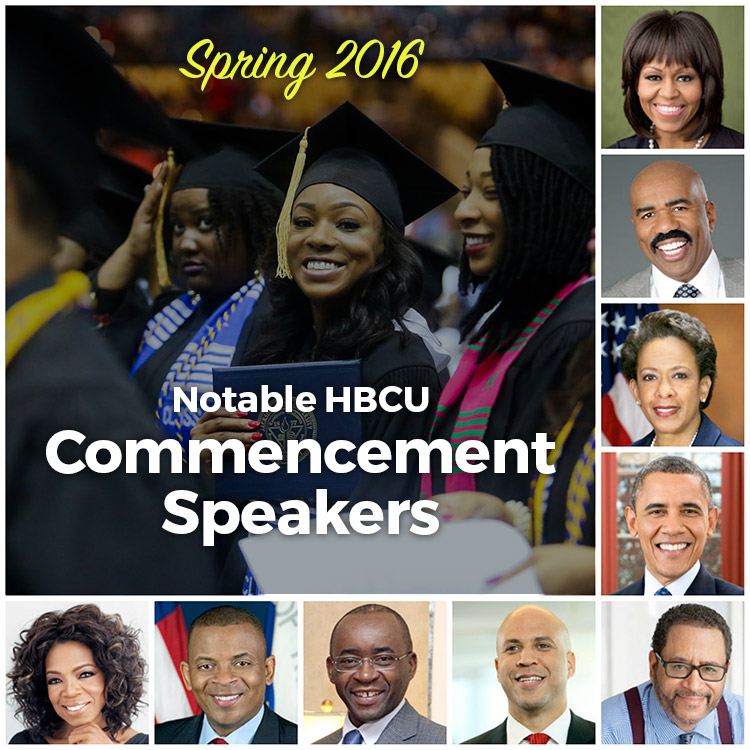 Notable Spring 2016 HBCU Commencement Speakers