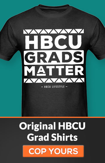 Men's Black and Ivory HBCU Grads Matter Shirt