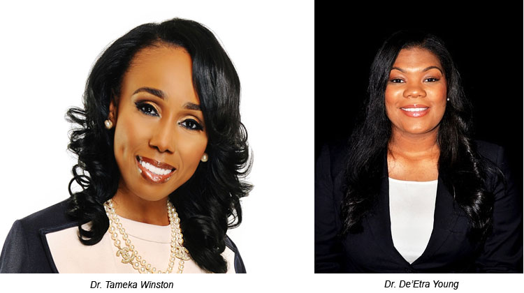 TSU Professors Winston and Young are Finalists for two Nashville Emerging Leader Awards.