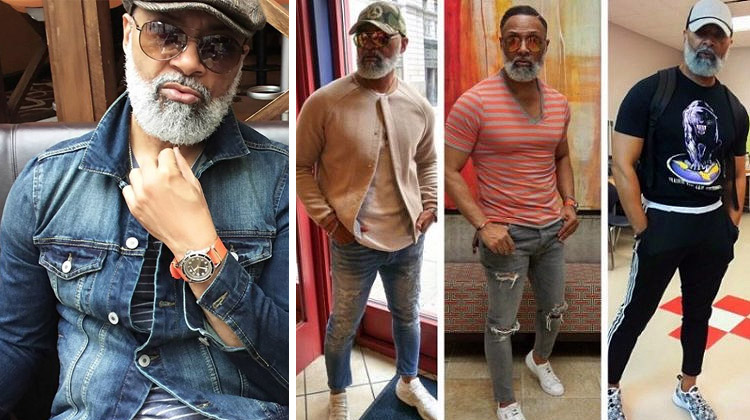 Stylish Irvin Randle, a 54-year-old grandfather and teacher from Texas, breaks the internet.