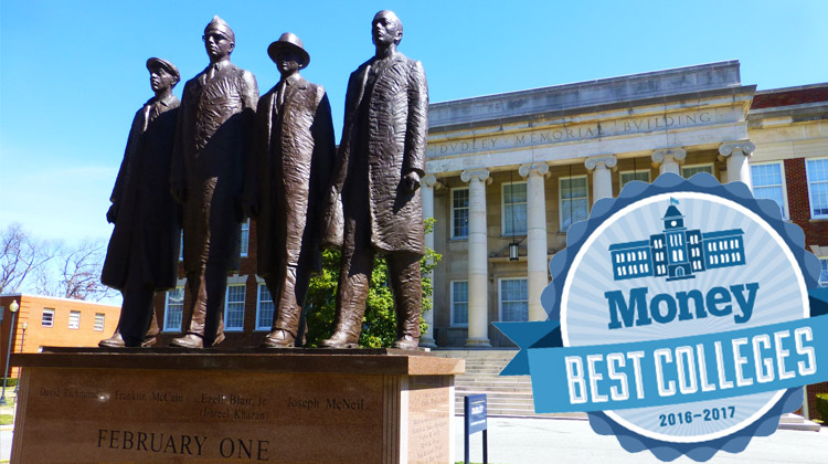 MONEY Magazine Ranks North Carolina A&T the No 1 Best Value HBCU